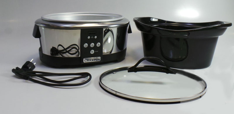 nejprodávanější pomalý hrnec - Bionaire Crockpot SCCPBPP 605
